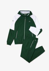 Lacoste Sport - WH2043 - Tracksuit - vert / blanc / vert / vert - 0