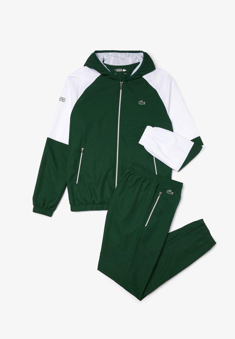Lacoste Sport - WH2043 - Tracksuit - vert / blanc / vert / vert
