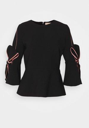 KEMI - Long sleeved top - black/rose