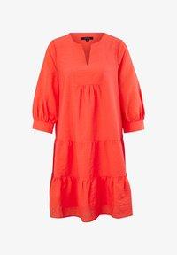 comma - Jumper dress - coral - 5