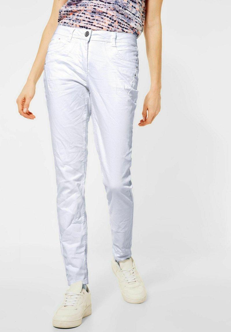 Cecil - Slim fit jeans - weiß