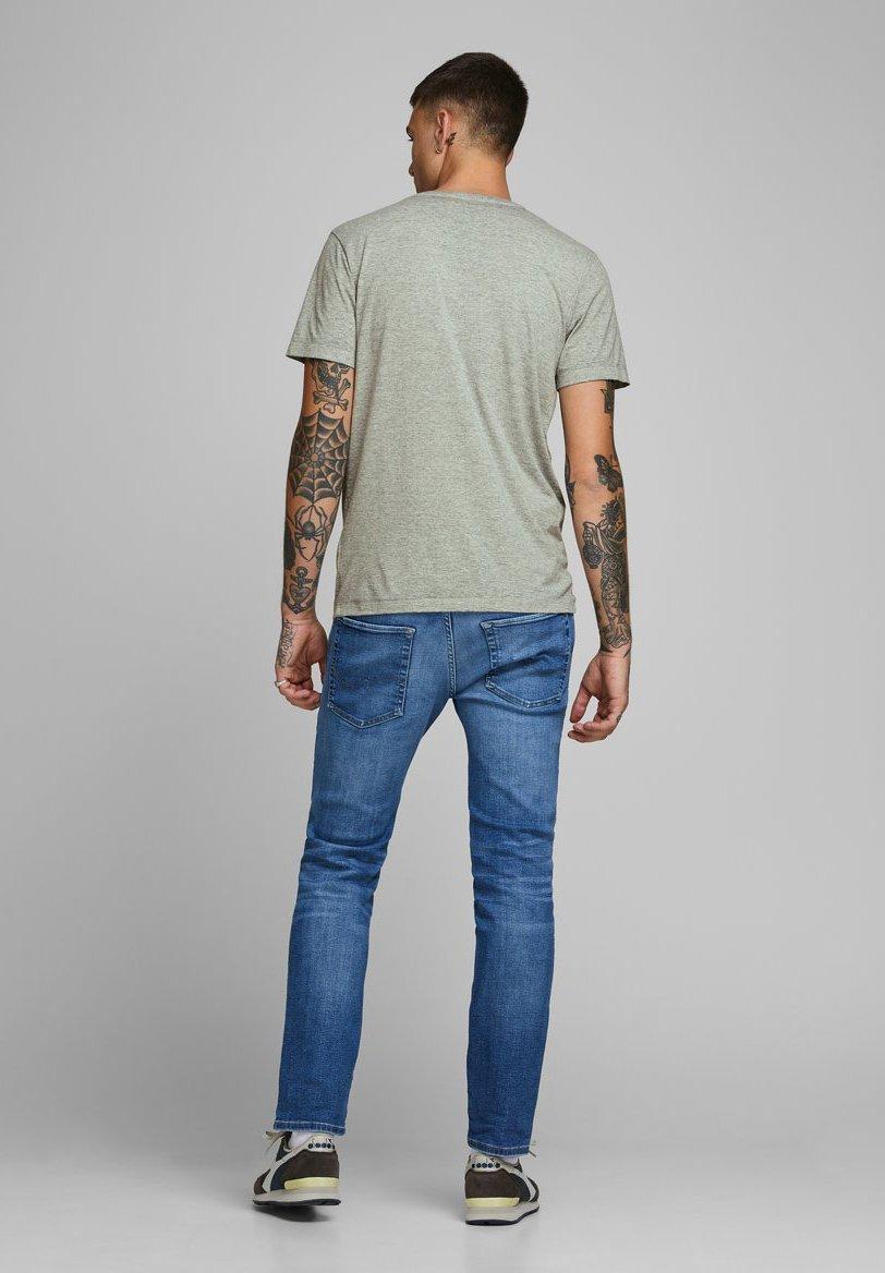 Jack & Jones Print T-shirt - light grey melange XeRTw
