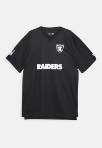 New Era - NFL OAKLAND RAIDERS WORDMARK - Klubové oblečení - black - 1
