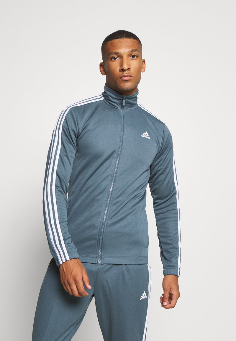 adidas Performance - TIRO AEROREADY SPORTS TRACKSUIT SET - Tracksuit - legend blue