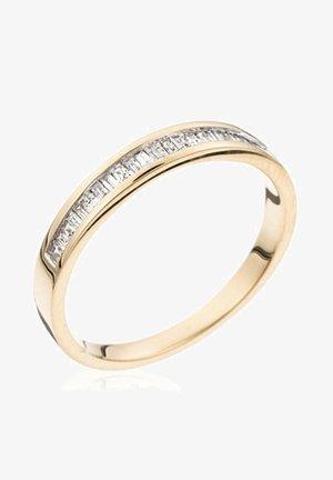 18K YELLOW GOLD RING  CERTIFIED 20 DIAMONDS HSI 0.2 CT - Bague - yellow