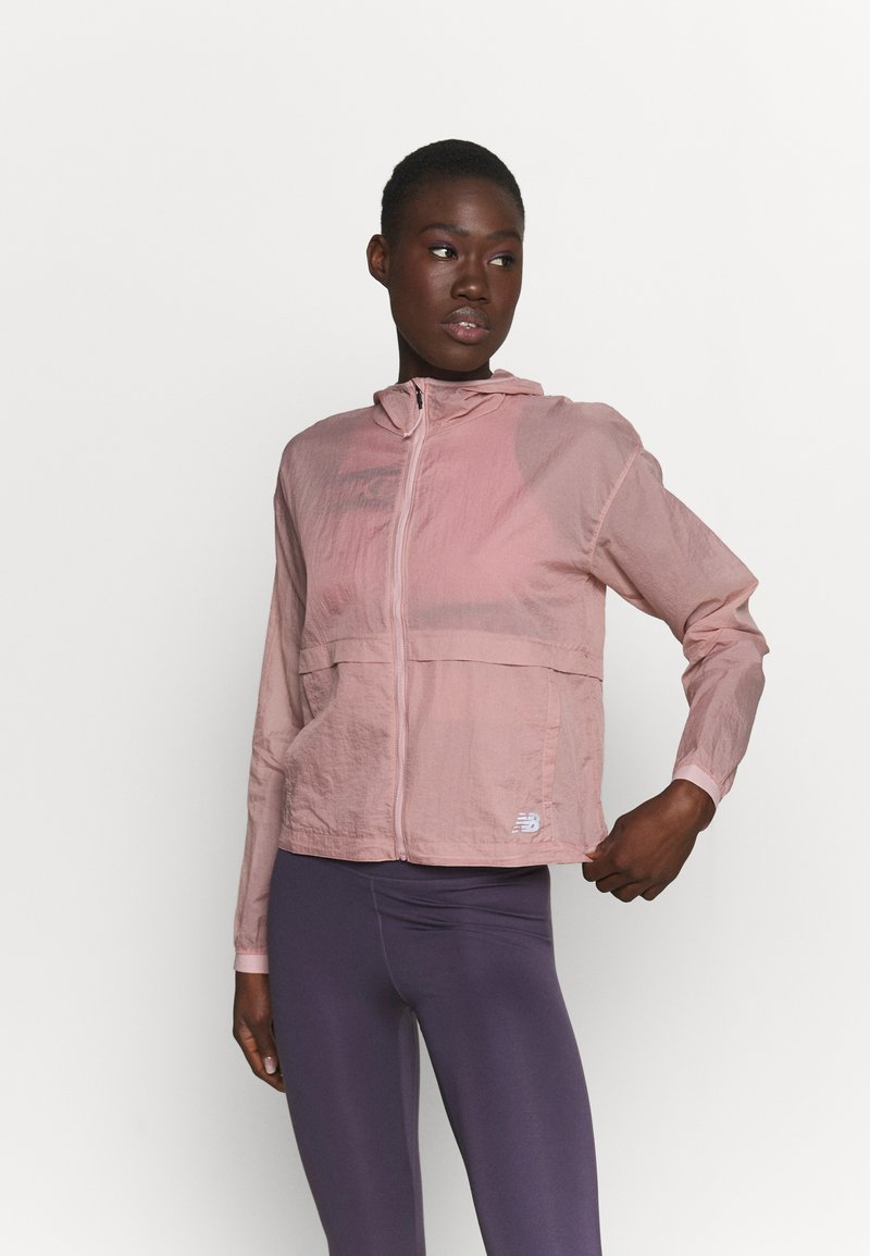 New Balance - Chaqueta de deporte - saturn pink