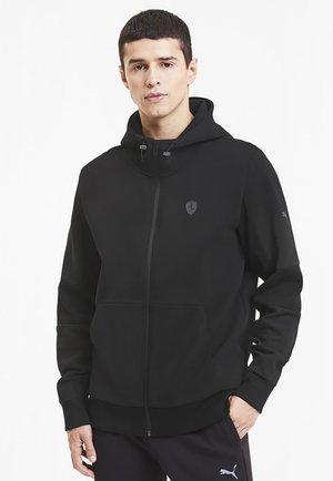SCUDERIA FERRARI STYLE  - Zip-up hoodie - black