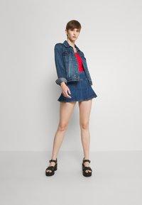 BDG Urban Outfitters - KILT SKIRT - Minijupe - dark vintage - 1