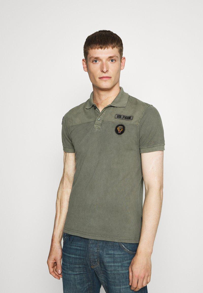 Schott - Polo shirt - sage kaki