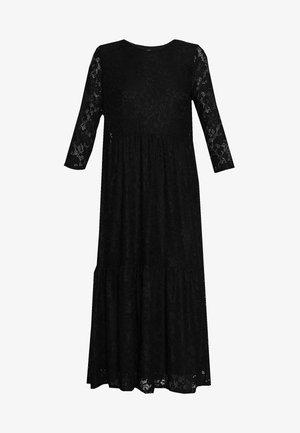 LARNACA TAMMY MIDI DRESS - Vapaa-ajan mekko - black