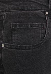 Cotton On Curve - MILLIE - Straight leg jeans - black - 2