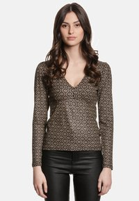 Vive Maria - GOLDEN LOVE - Blouse - schwarz allover - 0