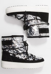 Moon Boot - PULSE MID GIRL DISCO - Lace-up boots - black - 0