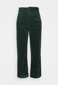 Monki - NILLA TROUSERS - Trousers - green dark - 5