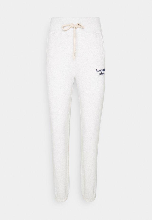 LOGO - Spodnie treningowe - light grey