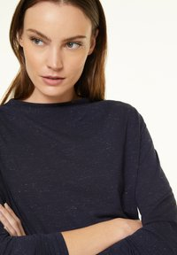 comma casual identity - Long sleeved top - dark blue - 3