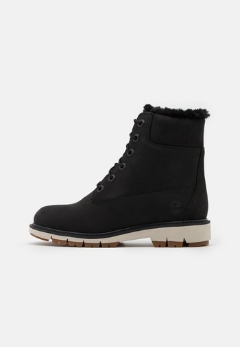 LUCIA 6 IN WARM LINED BOOT WP - Lace-up ankle boots - black