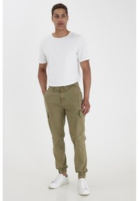 Blend - Cargo trousers - martini olive - 1