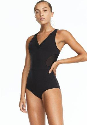 MIT MESH  - Swimsuit - black