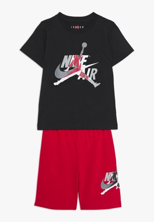 JUMPMAN CLASSIC TEE SHORT SET - Korte sportsbukser - gym red