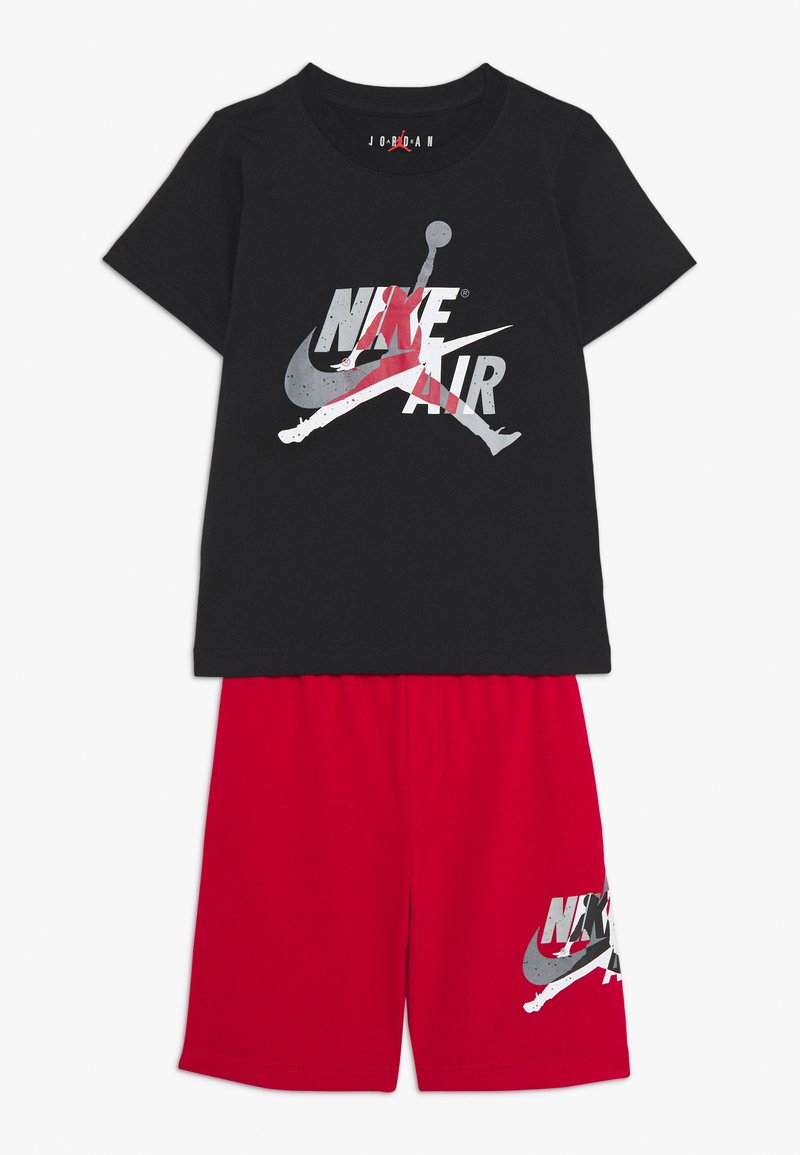 Jordan - JUMPMAN CLASSIC TEE SHORT SET - Sports shorts - gym red