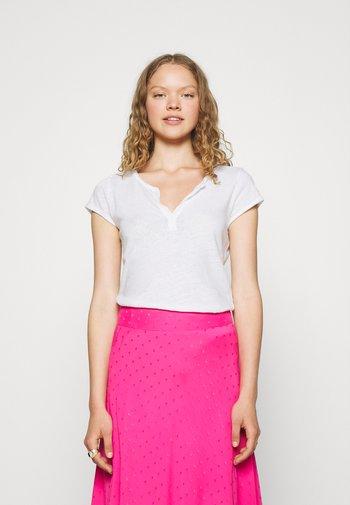 TROY TEE - Basic T-shirt - white