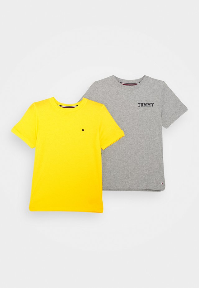 LOGO 2 PACK - Camiseta interior - grey