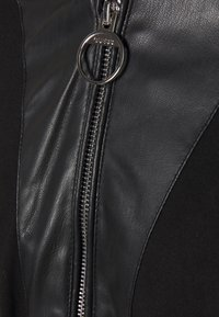 Guess - CLOTILDE JACKET - Faux leather jacket - jet black - 2