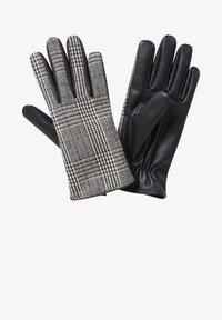 Cartoon - Gloves - grau/schwarz - 0