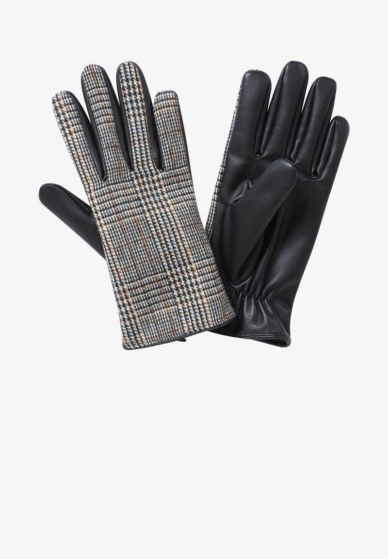 Cartoon - Gloves - grau/schwarz