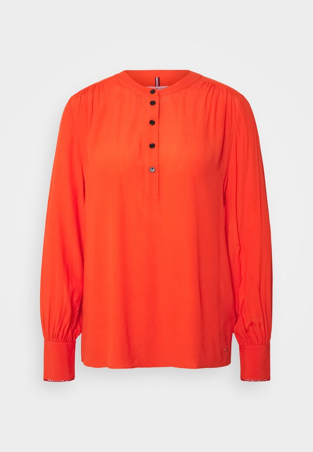 ALLYN POP OVER BLOUSE - Bluzka - oxidized orange