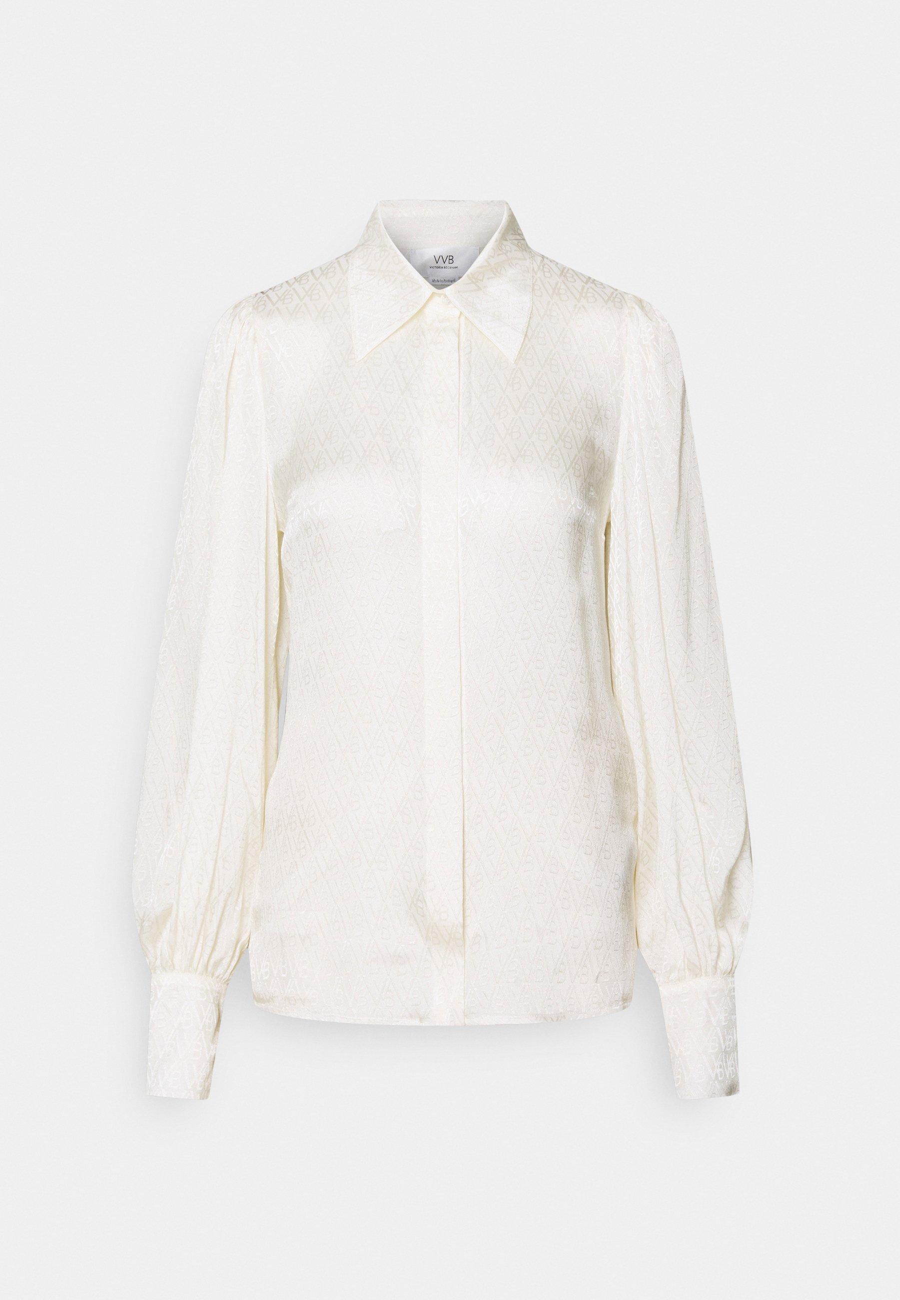 Women BLOUSON SLEEVE SHIRT - Button-down blouse