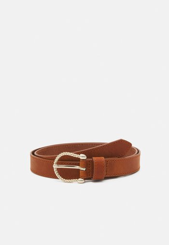 Belt - cognac