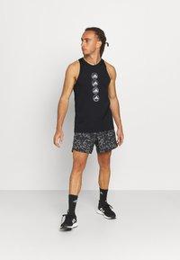 adidas Performance - RUN LOGO TANK M - Sports shirt - black - 1