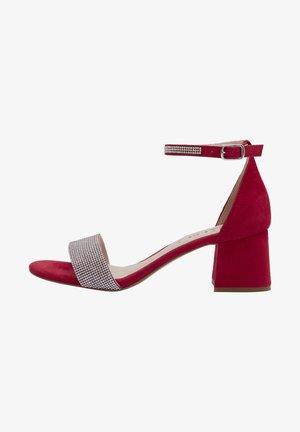 NIKA - Sandals - red
