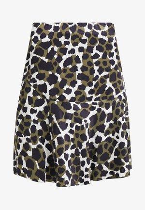 LEELA - A-line skirt - winter moss