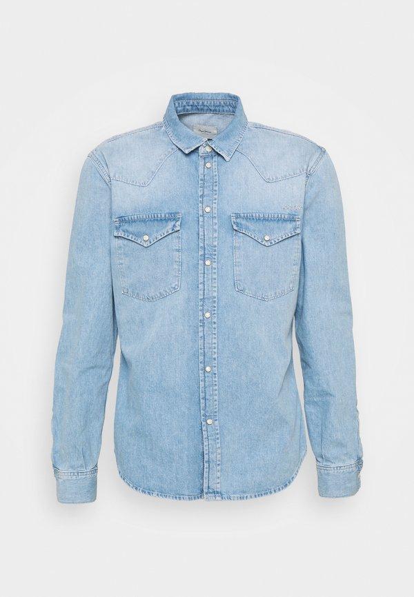 Pepe Jeans NOAH - Koszula - denim/niebieski denim Odzież Męska VQLD