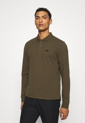 LONG SLEEVE - Polo shirt - ivy green