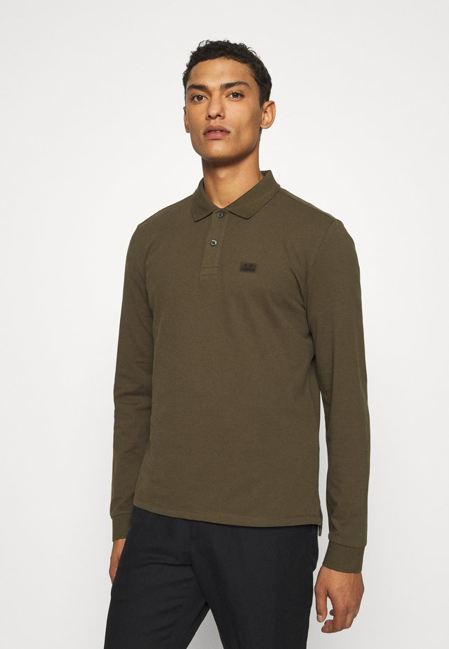 LONG SLEEVE - Polo - ivy green
