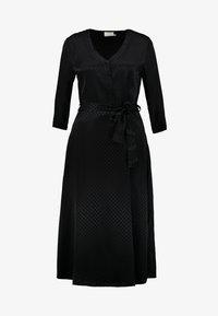 Kaffe - KAVELLA DRESS - Shirt dress - black deep - 5