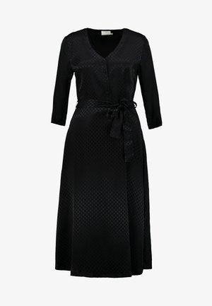 KAVELLA DRESS - Košilové šaty - black deep