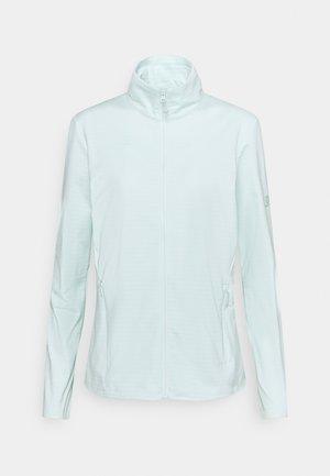 OUTRACK FULL ZIP  - Fleece jacket - opal blue