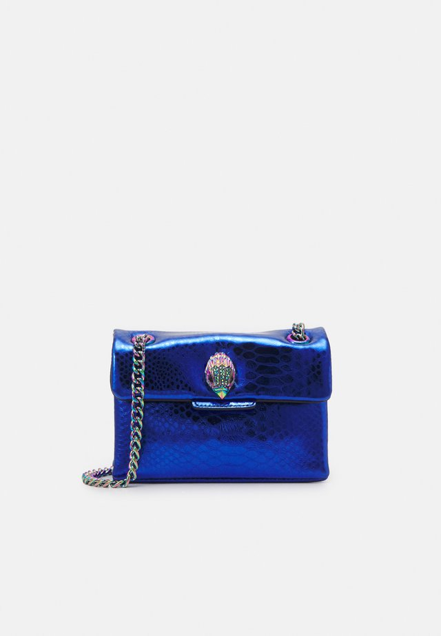 MINI KENSINGTON BAG - Axelremsväska - blue