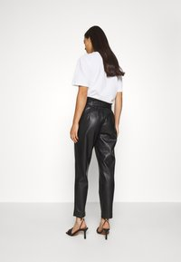 ONLY - ONLBRIONY DIONNE PANT - Trousers - black - 2