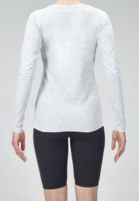 MOROTAI - Long sleeved top - light grey - 2