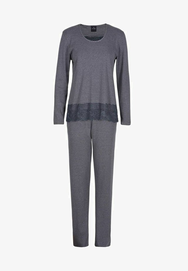Pyjama - gris fonce/gris clair
