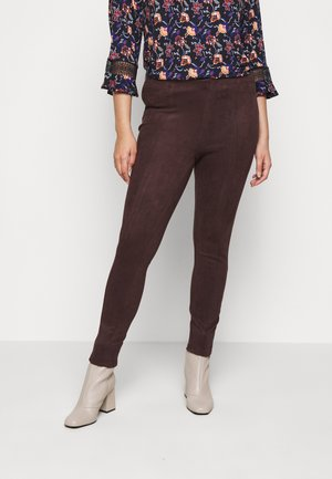 JRATONIA - Leggings - Trousers - chocolate plum