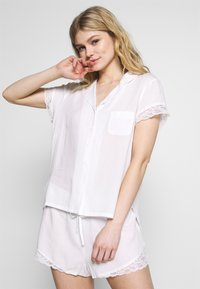 Pour Moi - SPOT MIX REVERE COLLAR - Pyjamasoverdel - white - 1