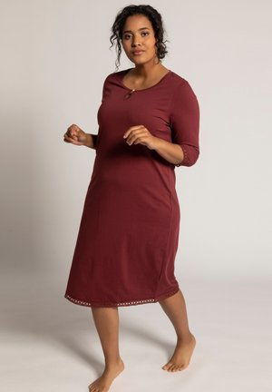Nightie - bordeaux red