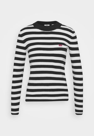 CREW - Jumper - black/white